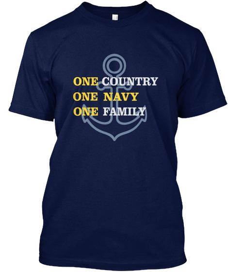 One Country Navy Kaos Front