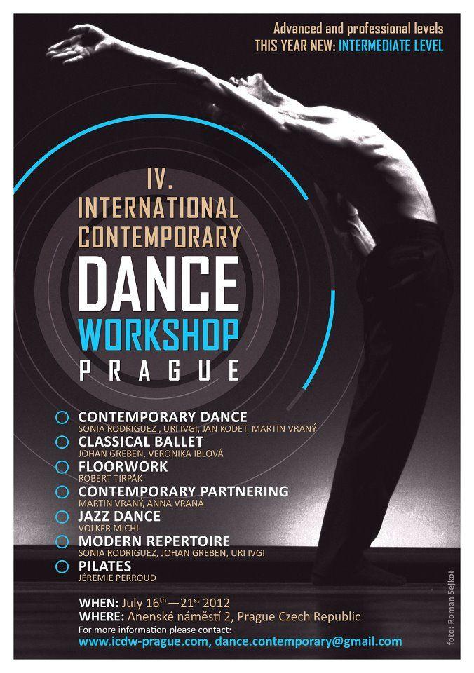 International Contemporary Dance Workshop Prague
