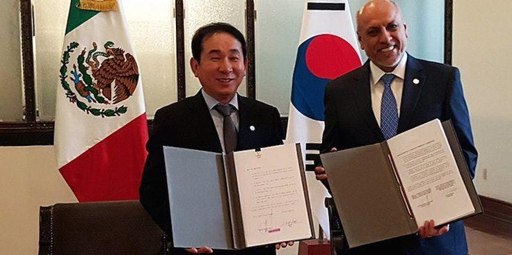 El Conacyt firma acuerdos de cooperación con la República de Corea para el desarrollo científico y tecnológico bilateral