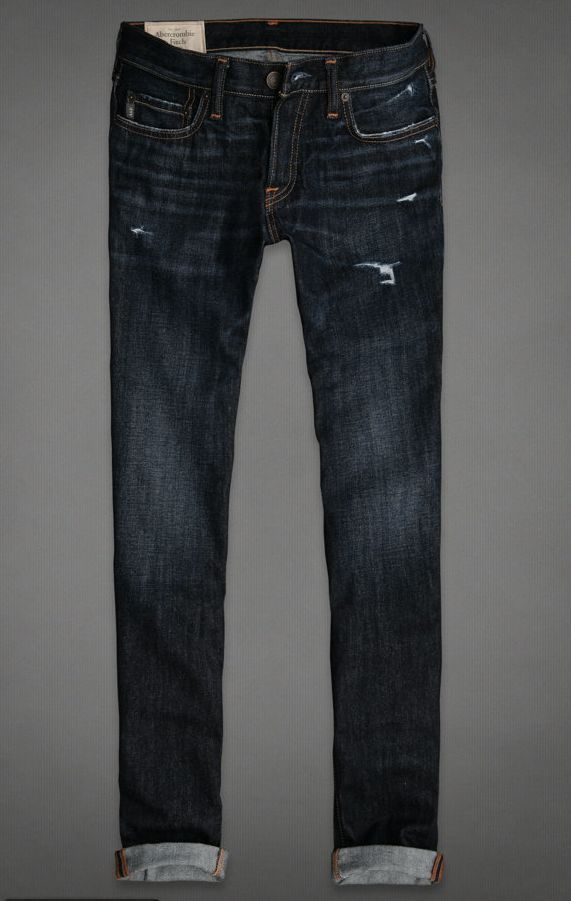 Abercrombie and Fitch A F Hollister Men's Skinny Jeans ...