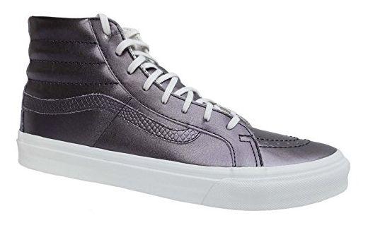 Vans Sk8-Hi Slim Damen Sneaker metallic (37 EU, (Metallic) Thiste Purple (metallic lila)) - Sneakers für frauen (*Partner-Link)