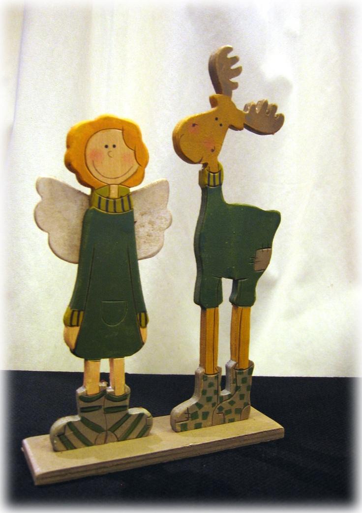 ESPECIAL NAVIDAD: ángel y reno