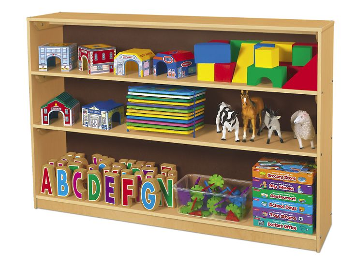 Attractive Classic Birch Store Anything Large Classroom Shelves At Lakeshore Learning