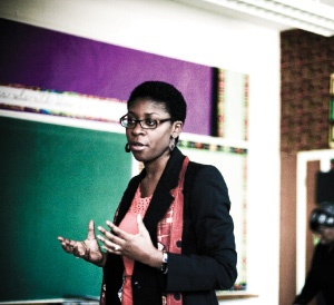 Women of Honour Nominee: Thando Hyman - The first Principal of Toronto's Africentric Alternative School.