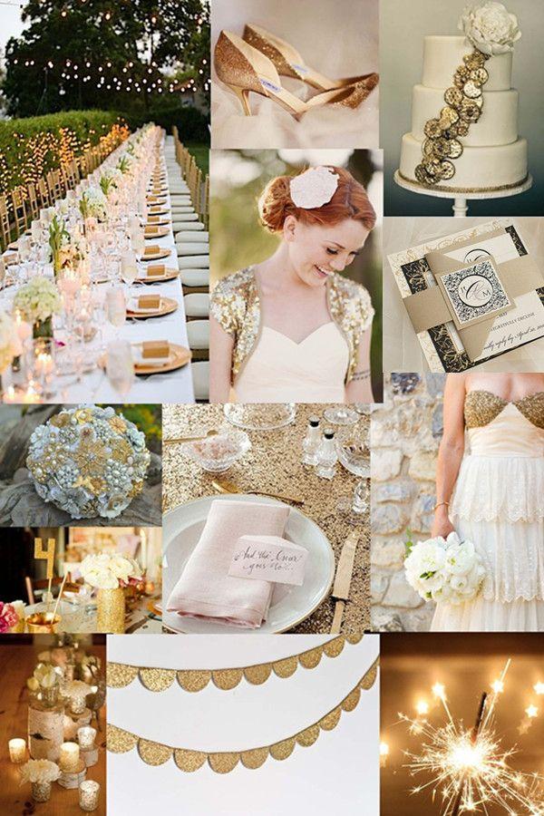 Goldene Hochzeit Inspiration Stylish Gl Nzend Und
