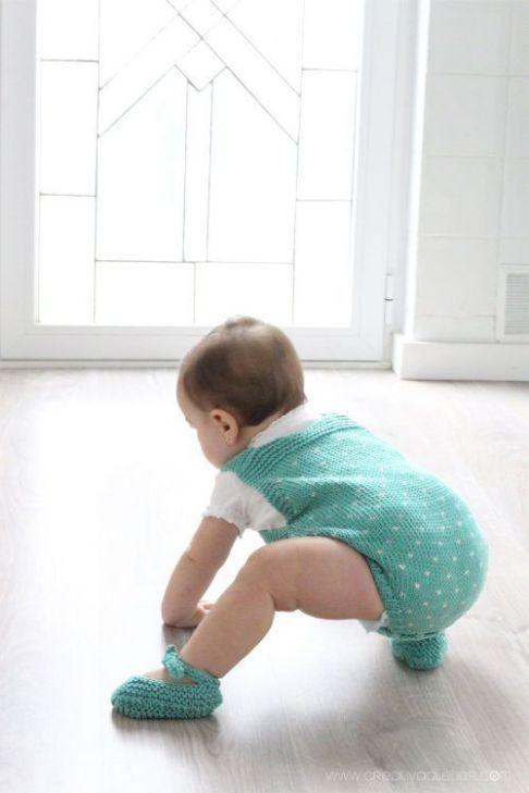 Peto de Punto de Bebé \