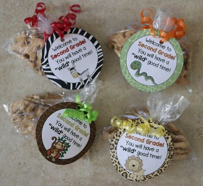Back to School Gifts--FREE gift tags