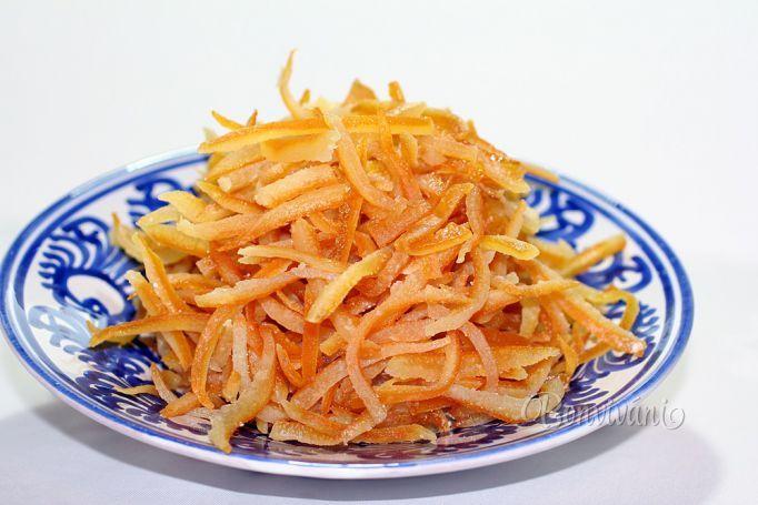 Kandizovaná citrusová kôra