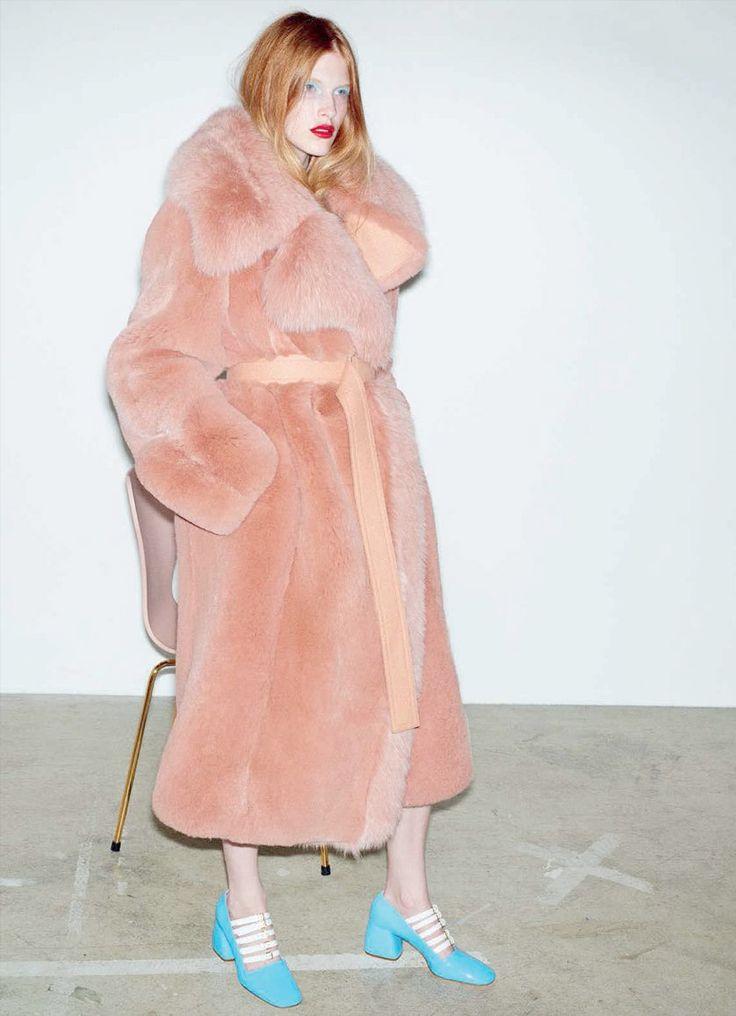 Niki Trefilova by Katja Rahlwes for Vogue Germany September 2015  - Miu Miu