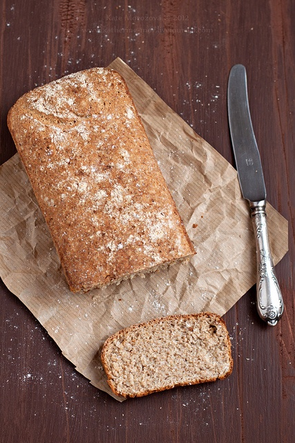 Simple Whole Wheat Bread | My FoodPhoto | Pinterest