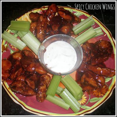 Spicy Hot Wings for Superbowl Recipe