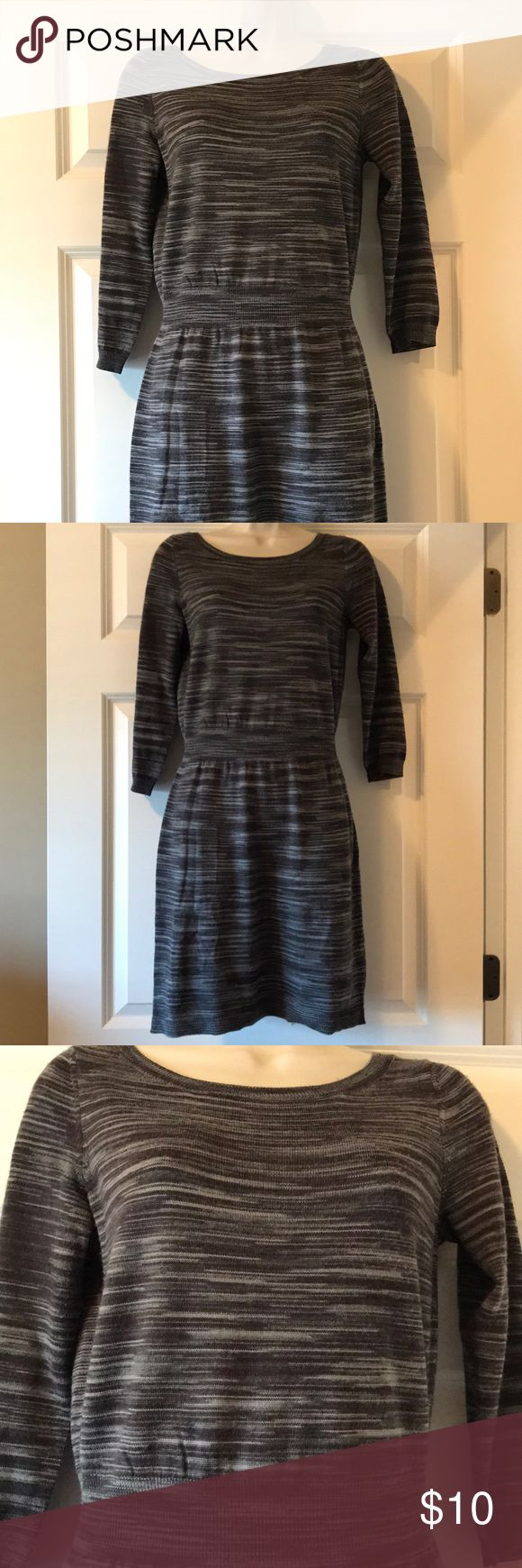 Sweater dress LOFT petite sweater dress. Looks great with a pair of tall brown boots LOFT Sweaters
