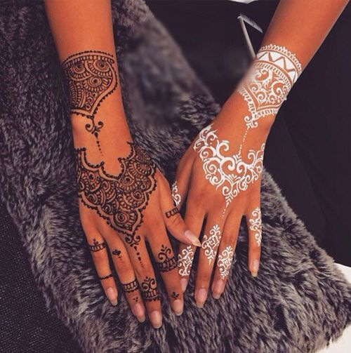 Henna beautiful elegant