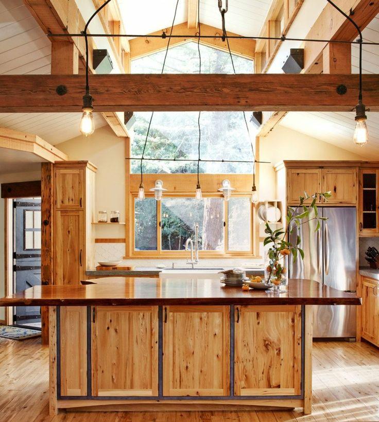 originales cocinas de madera