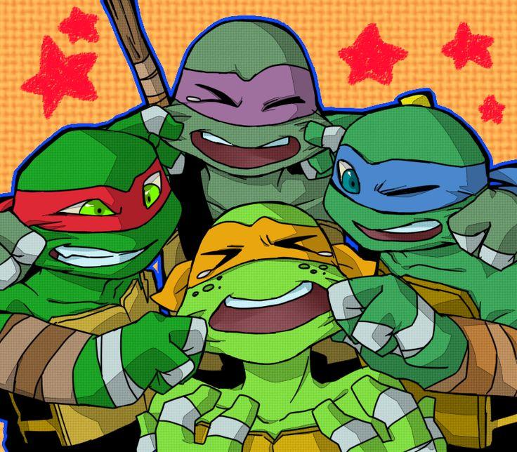Mikey, Leo, Raph,& Donnie
