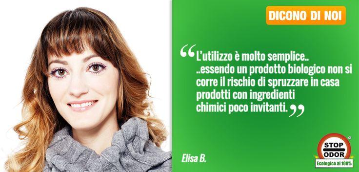 """Elisa, autrice del Blog """"Nuvole di Bellezza"""", ci racconta di StopOdor UF2000.   + CLICCA SULLA FOTO PER LEGGERE LA RECENSIONE."""