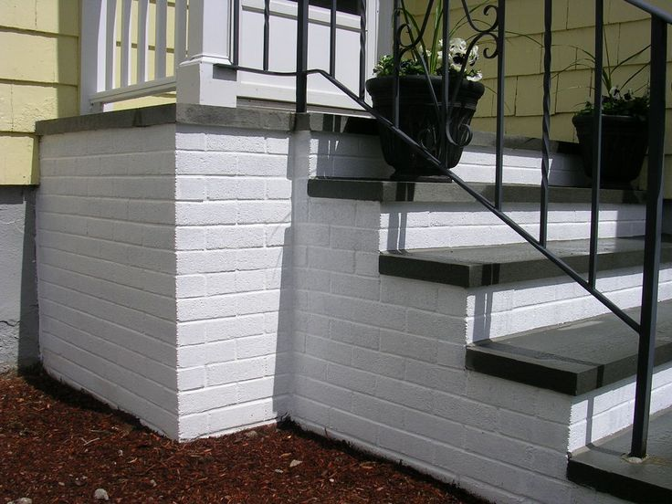 To prvent slipping down painted steps you can use sand in the paint.or go to lowes they have a non slip paint that comes in a can.You can also buy at lowes a peel and stick thick cover for the steps.