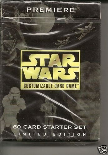 Star Wars CCG Premier Black Border Starter Deck @ niftywarehouse.com