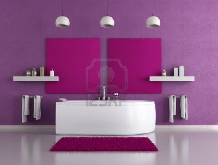 Great Color For A Small Space Like A Bathroom. #homedecor