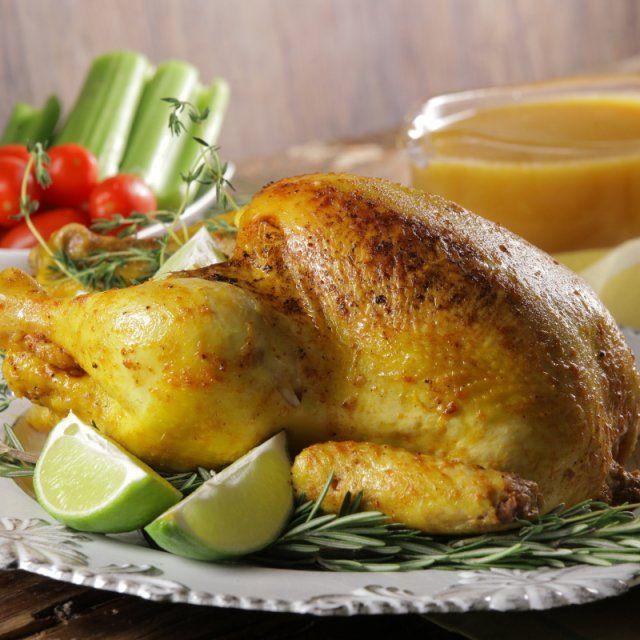Pollo Rostizado al Limón