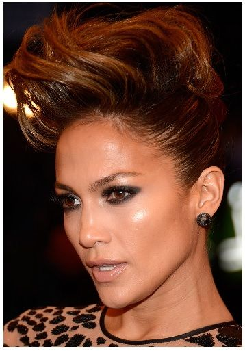 yabancı ünlülerin saç modelleri - Jennifer Lopez