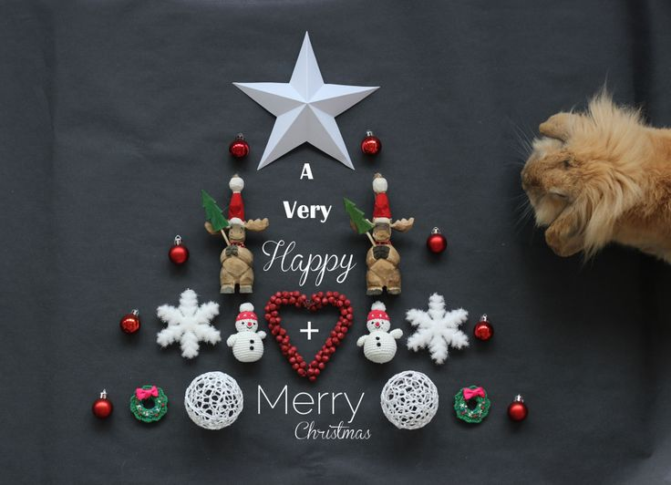 """We (jack+me) wish you """"A Very Happy + Merry Christmas"""" (by JesusSauvage)"""