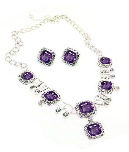 Set de bijuterii Sienna din cristale COD SB1P5