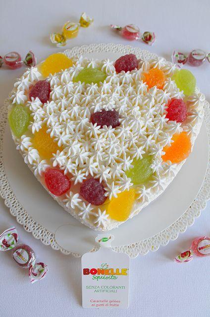 La Tavola Allegra: Cheesecake alle Pesche con Le Bonelle Gelées Le Squisite