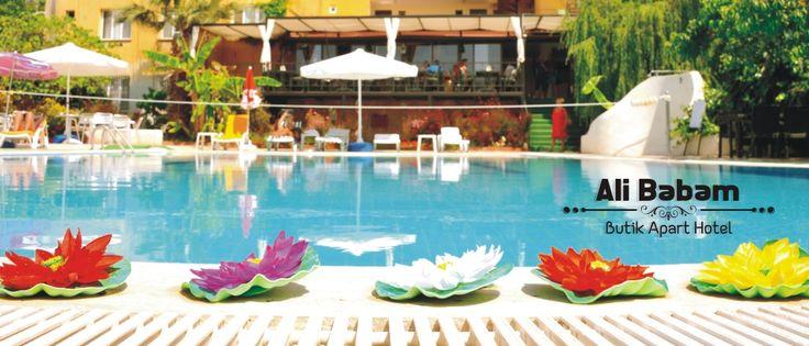 Kuşadası'ndaki Ali Babam Hotel web sitesi.