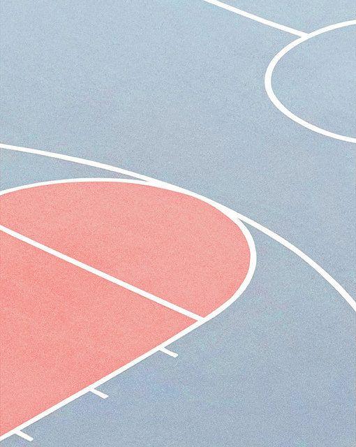 Bleu Ciel / Terrain / Rose / Douceur / Pink / Graphique / Design / Photographie