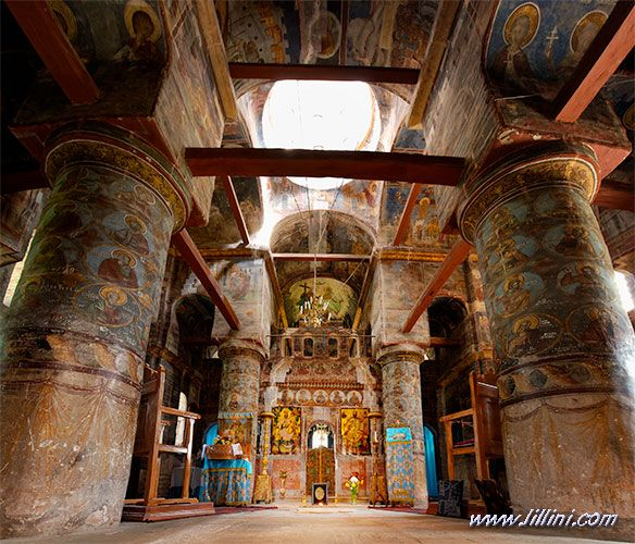 Snagov Monestery. Vlad Dracula's tomb.