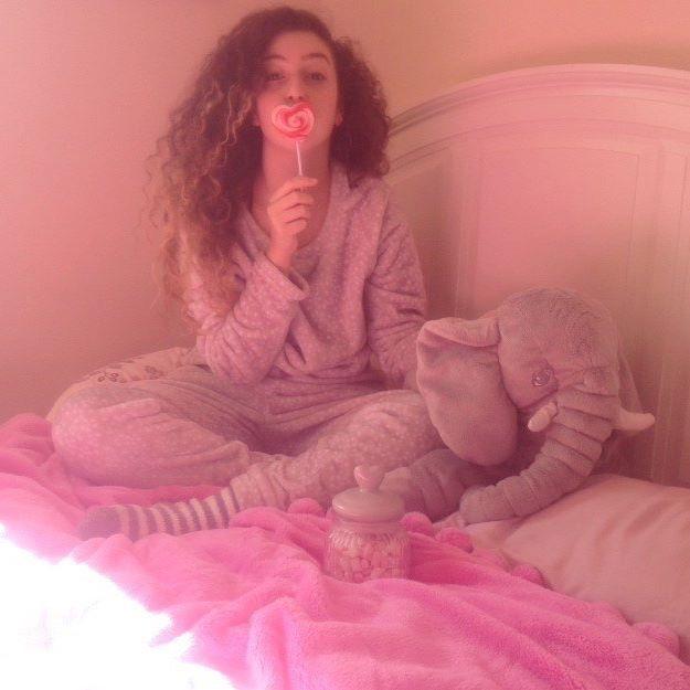 Pajamas. All day.