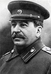 Joseph Staline Secrétaire Général du Comité Central du Parti Communiste du toute l'Union puis Secrétaire Général du Parti Communiste de l'Union Soviétique (1922-1952)