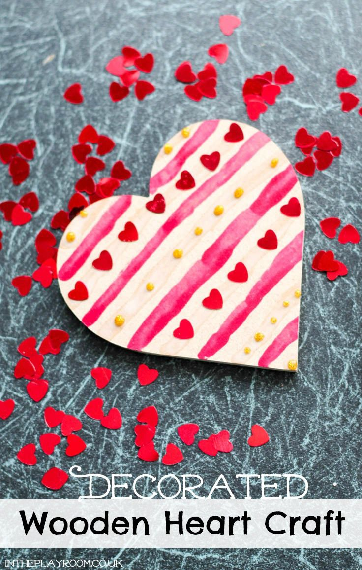 39 best images about valentine 39 s day on pinterest ideas for Wooden hearts for crafts