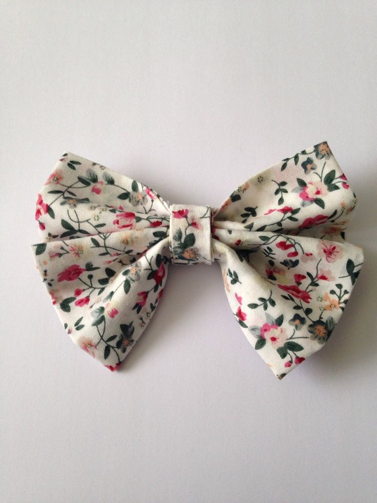 White Floral HeadBow on Wine Coloured Elastic by AvasAccessories1 on Etsy