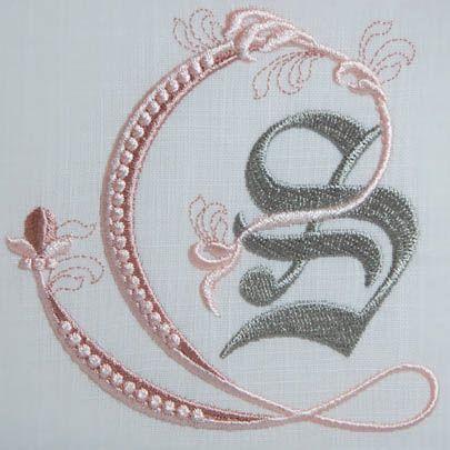 Fleur de Lis Alphabet- S: