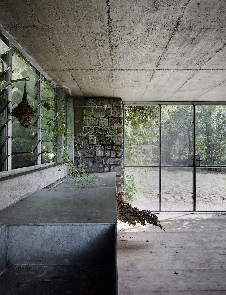 grne zuflucht in den rtischen alpen das italienische studio act_romegialli hat den auftrag erhalten die - Verwandeln Sie Ihre Garage In Wohnraum