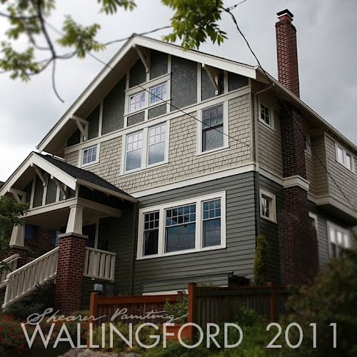 exterior house painting seattle wa. analogous paint color scheme seattle wa. exterior house painting wa