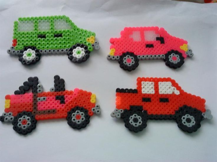 Cars perler beads by Ani Havah H. - Perler®   Gallery