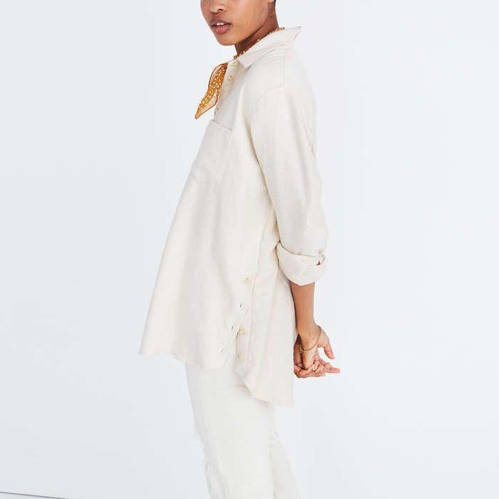 Rank & Style - Madewell Flannel Sunday Shirt #rankandstyle
