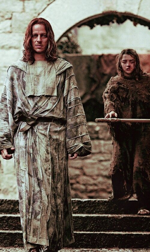 Jagen H'ghar and Arya Stark