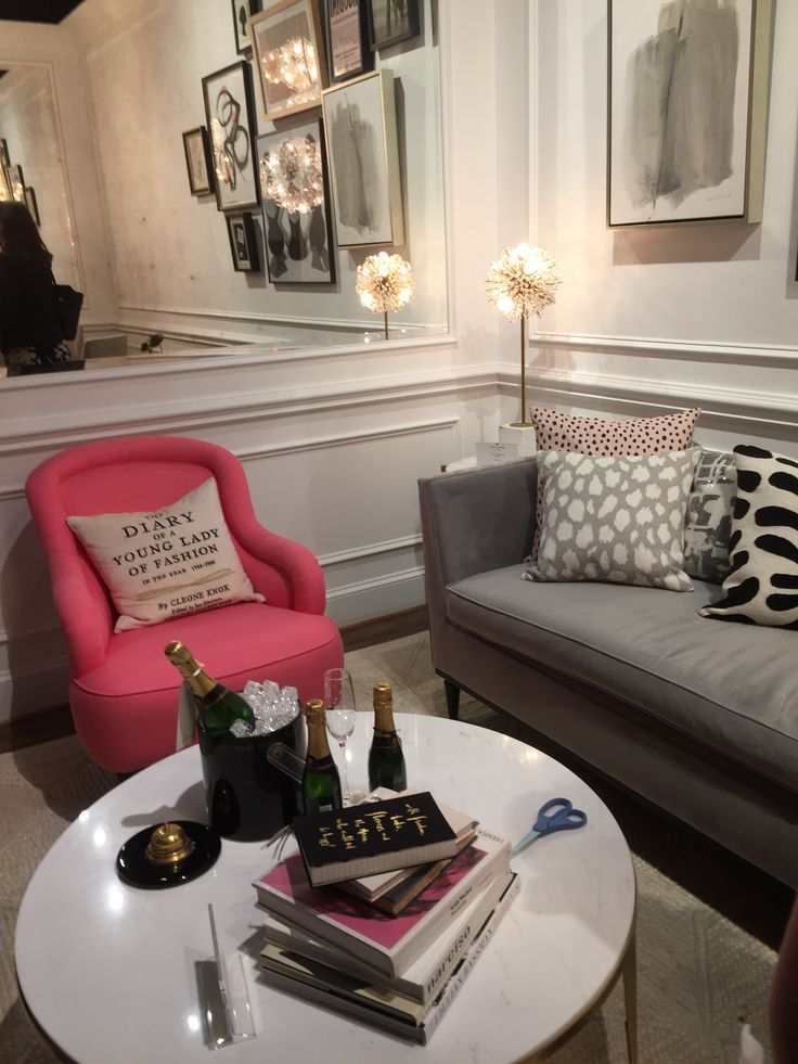 Kate Spade... A girly apartment peut tetre en Paris