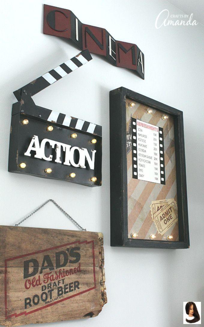 Dekorieren Sie Ihr Familienzimmer Mit Kino Dekor Fur Ein Lustiges