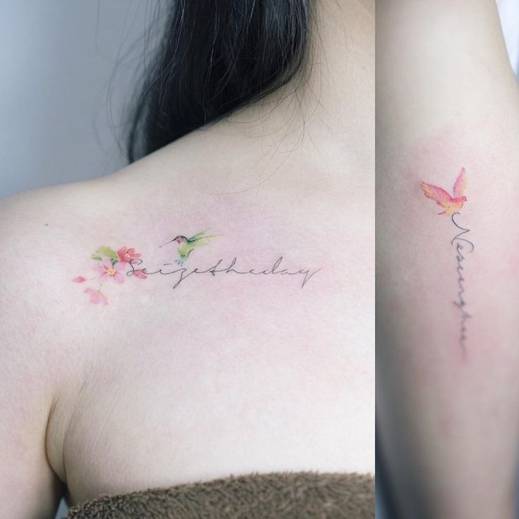 레터링 & 새 . #tattoo#tattooist#tattooistsol#솔타투#lettering#soltattoo#color#colortattoo#꽃타투#flowertattoo#flower#꽃#equilattera #타투#솔타투#타투이스트솔