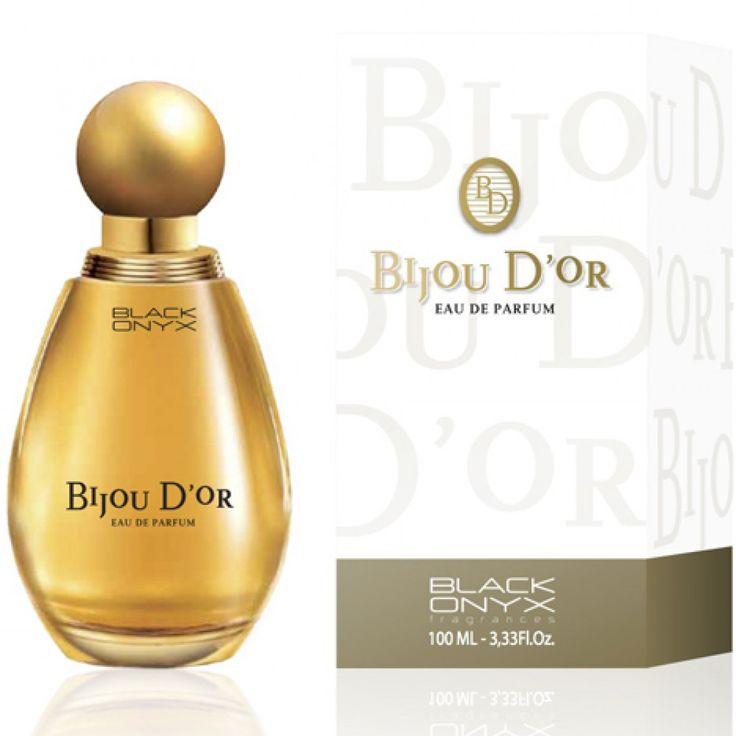 Parfum 100ml Bijou D'or pour les femmes EDP du grossiste et import