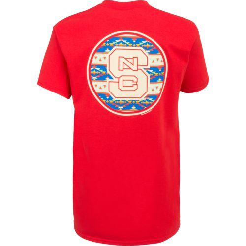 New World Graphics Women's North Carolina State University Logo Aztec T-shirt (Red, Size X Large) - NCAA Licensed Product, NCAA Women's at Academy ...