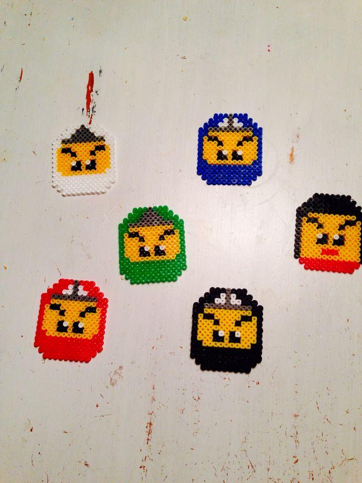 Hama beads ninjago Nya