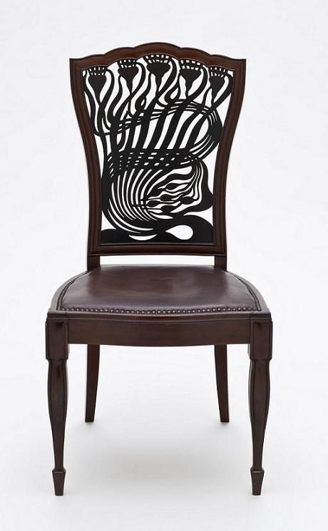 arthur heygate mackmurdo chair 1883 design chairs
