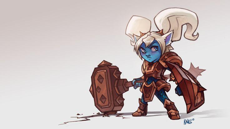 Poppy League of Legends. KNKL by Knockwurst on deviantART