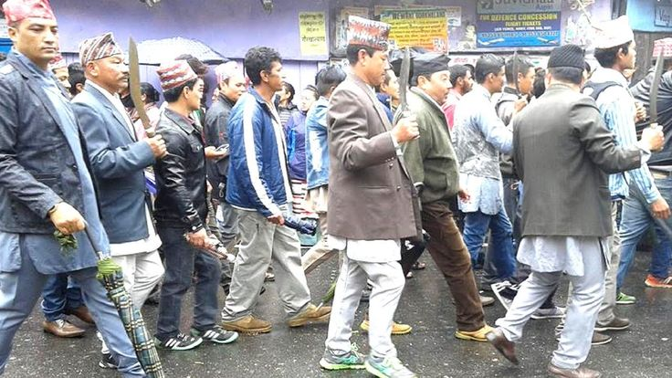 Gorkhaland Supporters Take Out A Mass Rally To Demand Separate State Gor...